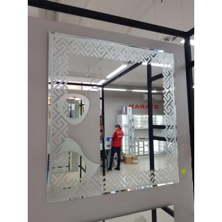 Зеркало 750*700+Матиров