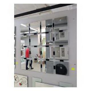 Зеркало NIKO-MIRROR+ лакобель(660*660)