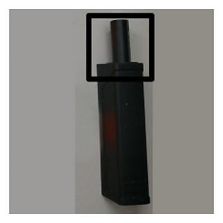 Тип-он регулируемый Черный короткий для накладных фасадов 956.1002