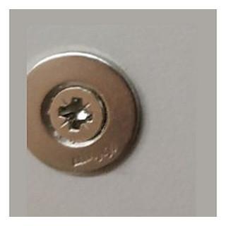 Тип-он пластина для дверей под шуруп 955.1008S