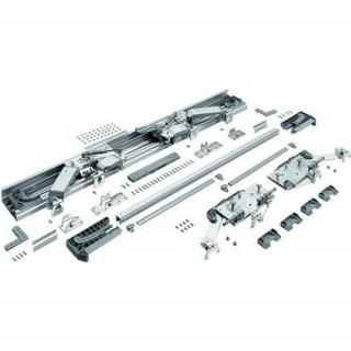 Комплект роликов+направляющие на 2 двери 1600-1799 InLine XL