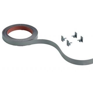 Лента-самоклейка для Slide Line M L=4м, 18мм серебро