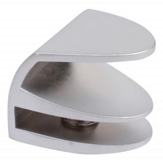 Ручка для стекла Siso 4-5 мм. Овальная матовый хром