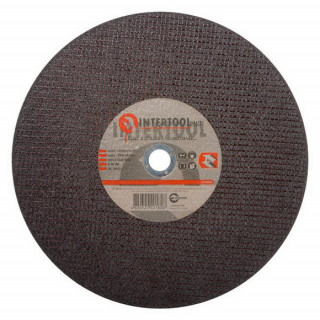 Круг отрезной по металлу 355х3,0х25,4мм INTERTOOL CT-4018