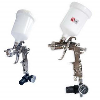 Краскопульт пневматический LVLP, INTERTOOL PT-0130