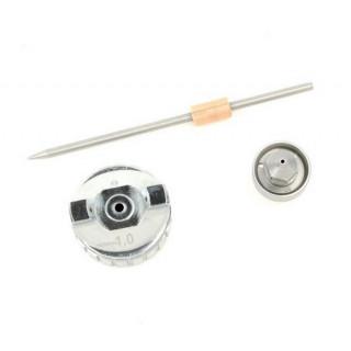 Комплект форсунки 1.0мм для краскопульта LVMP mini PT-0129