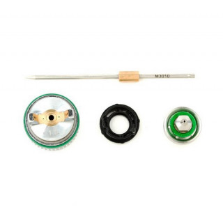 Комплект форсунки 1.0мм для краскопульта HVLP II mini PT-0128