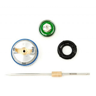 Комплект форсунки 0.8мм для краскопульта HVLP II mini PT-0128