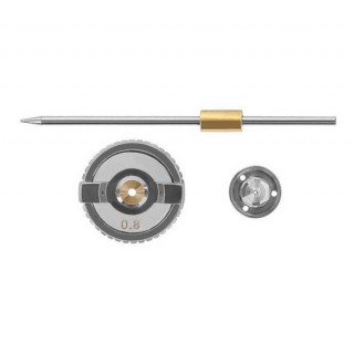 Комплект форсунки 0.8мм для краскопульта HVLP РТ-0101