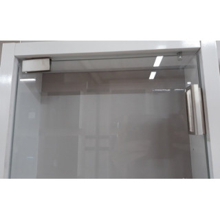 Петли для стекла ZS 9006 сатин