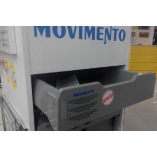 Сист для выдвижных ящиков PLASTIC-BOX скрыт.напр  полн выдв./доводч L=450 мм W=500 мм MOVIMENTO