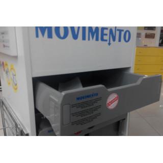 Сист для выдвижных ящиков PLASTIC-BOX скрыт.напр  полн выдв./доводч L=450 мм W=600 мм MOVIMENTO