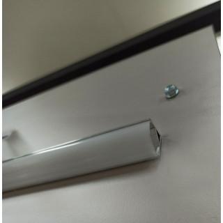 Профиль алюминиевый с рассеивателем ALP006 (угловой)
