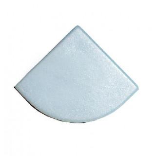 Заглушка к профилю алюминиевому  EC-ALP006-углов.(пара) серые