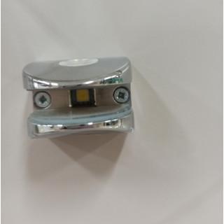 Подсветка хром полкодержатель (6-8 мм) МЕТАЛЛ 20777-03-CH-NW
