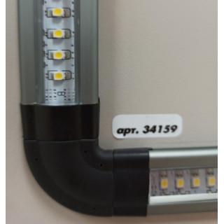 Коннектор Corner 90 гр к светильнику SС-D107А