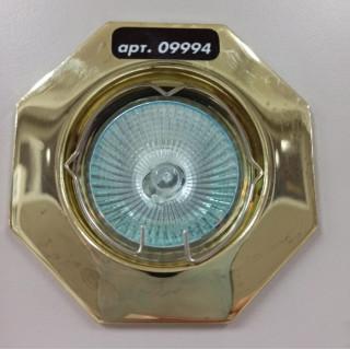 Светильник многоугольный 824 золото