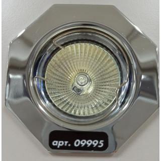 Светильник многоугольный 824 хром