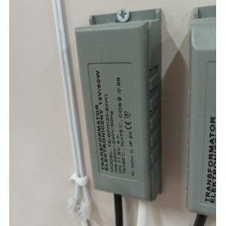 Трансформатор электрический 20-60в (НЕ ДЛЯ LED)