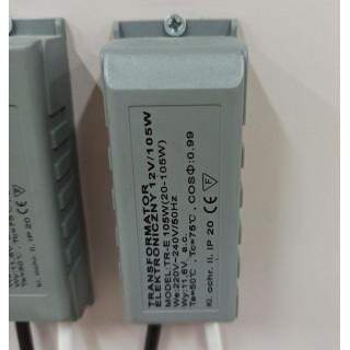 Трансформатор электрический 20-105в (НЕ ДЛЯ LED)