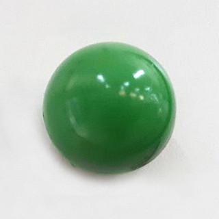 Ручка кнопка пластик зеленая 411.001 ПФ31