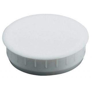 Заглушка белая 35*10 мм, пластик  Hafele 340.41.702