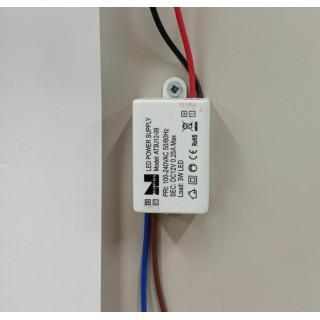 Блок питания трансформатор 3W 12-09 (на свет не больш 2,4W)