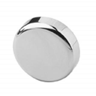 Заглушка на чашку петли для стеклянной двери, круглая ХРОМ 84.4140