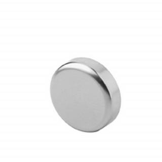 Заглушка на чашку петли для стеклянной двери, круглая САТИН 84.4140