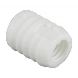 Муфта врезная М 6 пластик