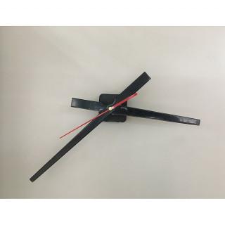 Часовой механизм М25  Стрелки B709 (черные)