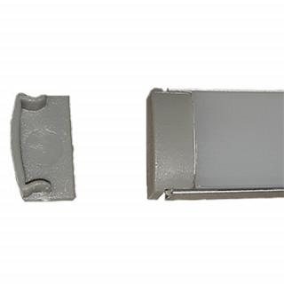 Заглушка к профилю алюминиевому П7 накладному