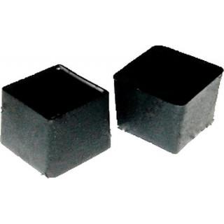Заглушка квадрат наружная 20х20