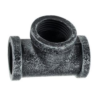 Крепление труб Т-образ. d-19 мм ретро
