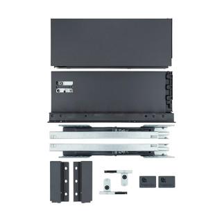 Тандембокс 450 мм Н167 мм (графит) Slim ДС (ПОД ЗАКАЗ)