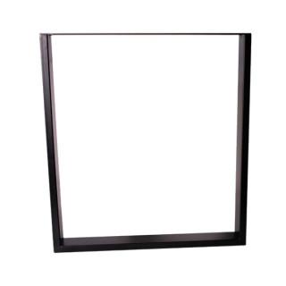 Опора прямоугольная (H710мм W650 мм) черный ДС