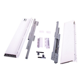 Тандембокс 400 мм Н167 мм (белый) Slim ДС (ПОД ЗАКАЗ)
