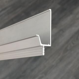 Профиль алюминиевый VR-2, 3м (фактура сатин, матовая бархатная поверхность) (ПОД ЗАКАЗ)