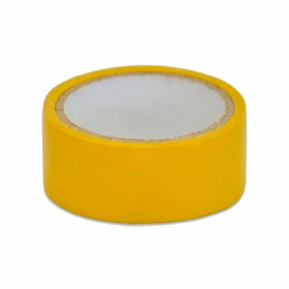 Изолента желтая 19мм*10м (10-707)