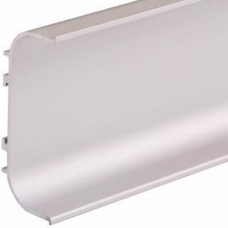 Профиль алюминиевый ФБР C-образный Алюминий 5950 мм М/П (Под заказ)