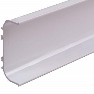 Профиль алюмниевый ФБР C-образный Белый 5950 мм М/П (Под заказ)