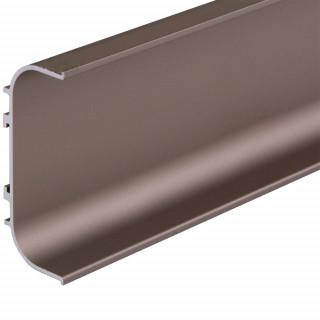 Профиль алюминиевый ФБР C-образный Коньяк 5950 мм М/П (Под заказ)