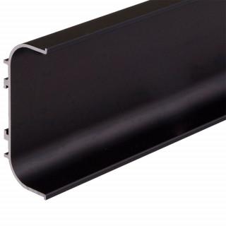 Профиль алюминиевый ФБР C-образный Черный 5950 мм М/П (Под заказ)