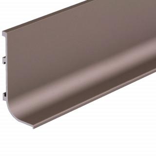 Профиль алюминиевый ФБР L-образный Коньяк 5950 мм М/П (Под заказ)