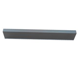 Ручка 412.034 (К02 алюминий L 128 мм)