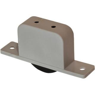 Ролик OG скрытый Нейлон 22 мм серый (Под заказ)