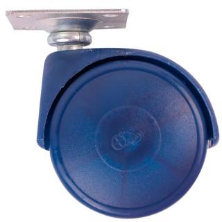 Ролик с площадкой D50 мм, нагрузка 30 кг Сиреневый (35110) (Под заказ)