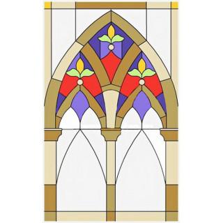 Витраж для декора окна w045