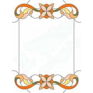 Витраж для декора зеркала mr023