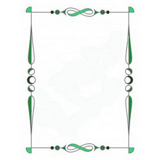 Витраж для декора зеркала mr024